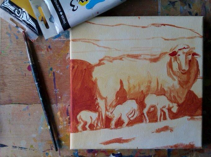 Ewe with a View tonal, Debra Wenlock