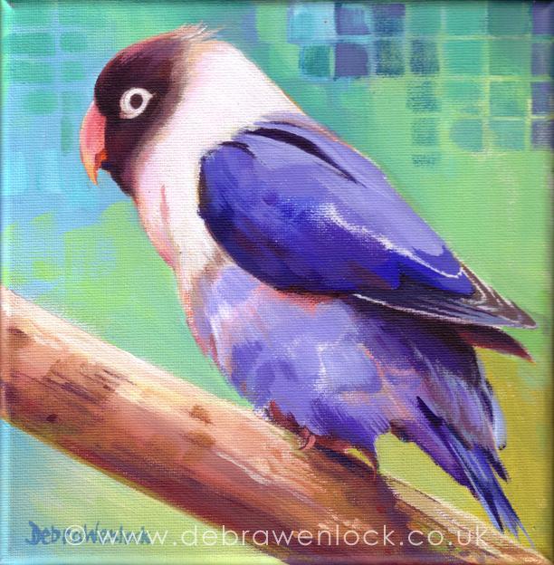 Lovejoy the Lovebird by Debra Wenlock