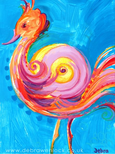Seahorse-Sail-Bird by Debra Wenlock