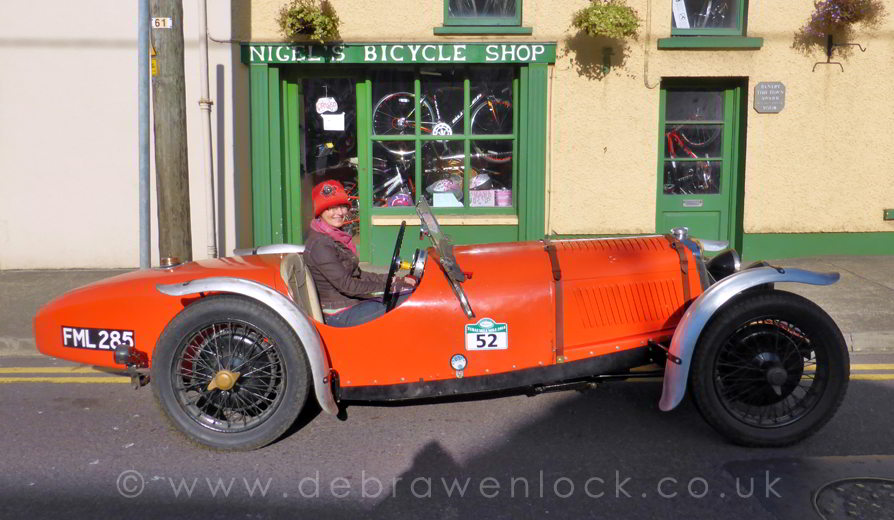 Riley TT Sprite in Bantry with Debra Wenlock