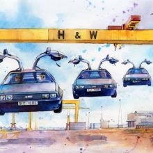 DeLoreans - Back to Belfast by Debra Wenlock