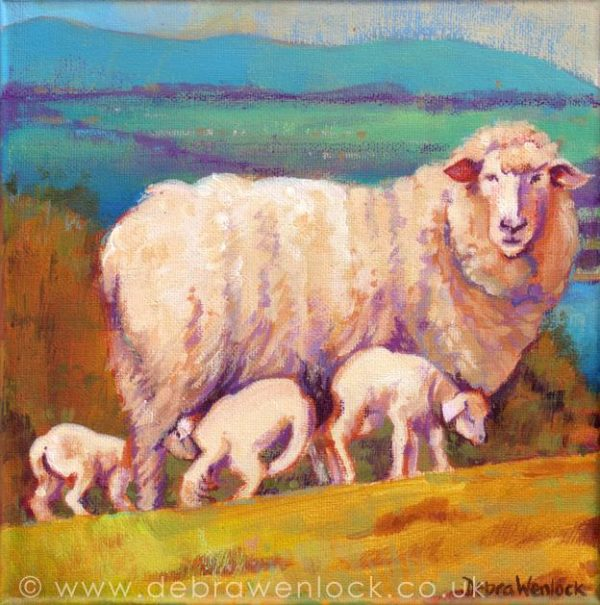 Ewe with a View by Debra Wenlock