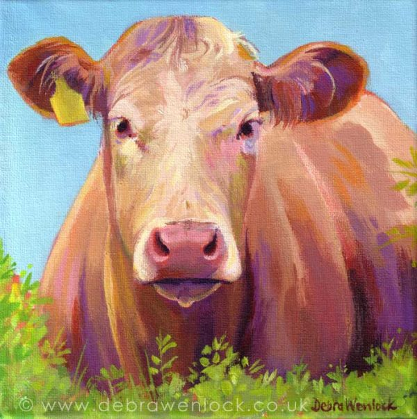 Maude the friendly Moo by Debra Wenlock