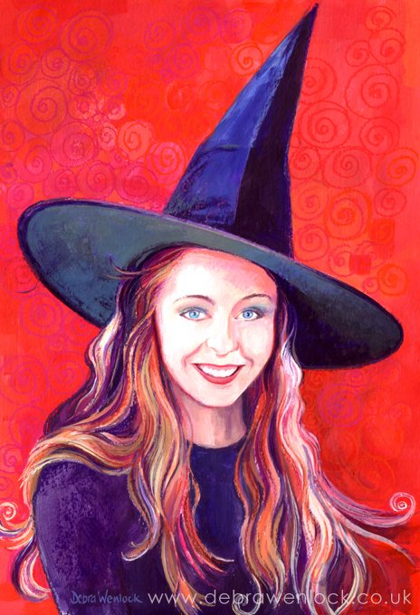 Ruth as the Steam Witch by Debra Wenlock