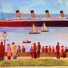 Holywood Esplanade Titanic by Debra Wenlock