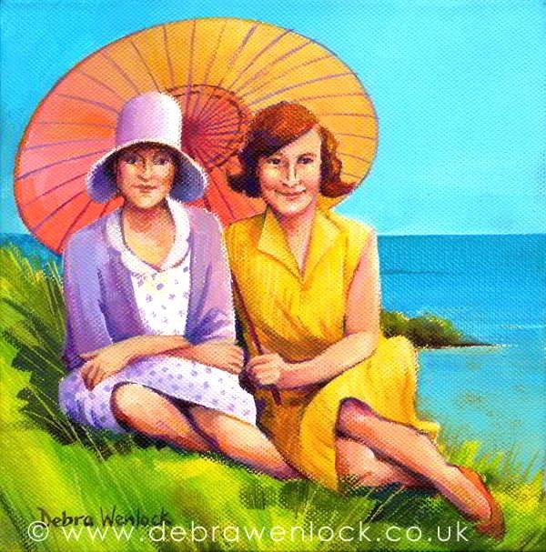 """Bring me Sunshine"" acrylic painting by Debra Wenlock"