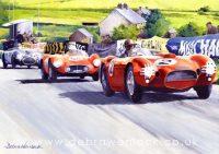 Fangio Painting by Debra Wenlock