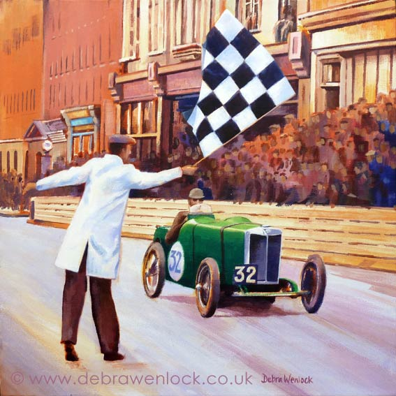 MG Victory at Limerick by Debra Wenlock