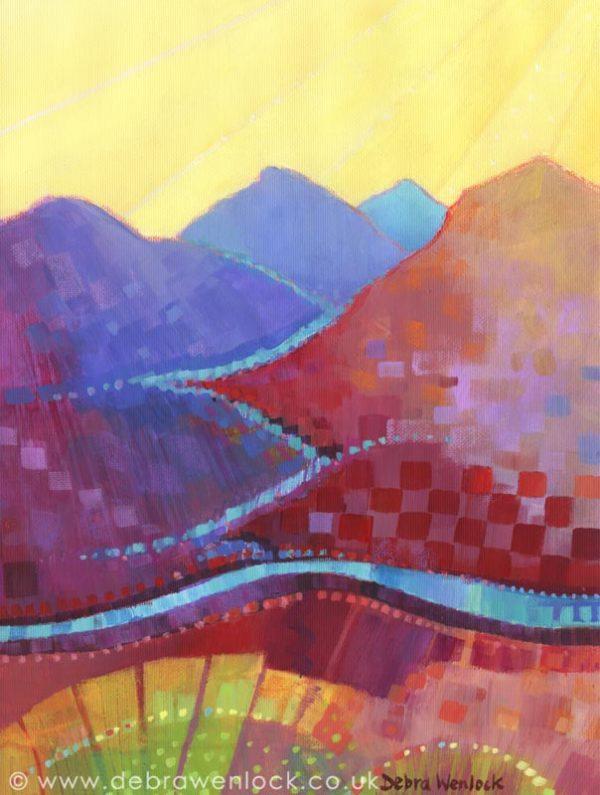 Connemara Sunburst by Debra Wenlock