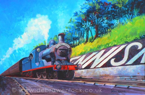 The Bundoran Express by Debra Wenlock