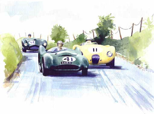Lotus, Jag and Fraser-Nash, Debra Wenlock