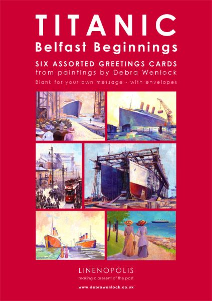 Titanic Greetings Cards by Debra Wenlock