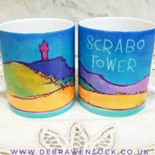 Scrabo Tower Mug by Debra Wenlock